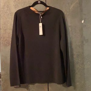 NWT Eileen Fisher Silk and Cotton Sweater